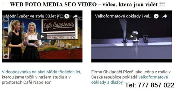 Natočení videa pro video marketing v Plzni