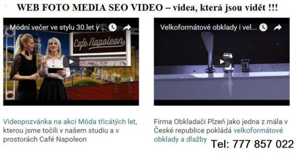 Natočení videa pro video marketing v Plzni