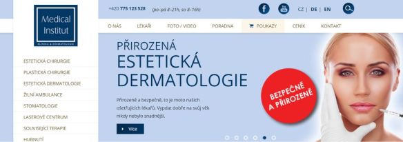 Plastická chirurgie Plzeň - Medical Institut