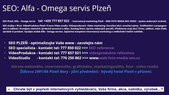 SEO Plzeň Alfa - Omega servis