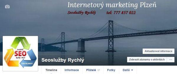 SEO služby Rychlý profil Facebook
